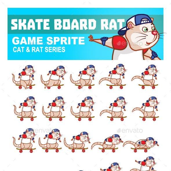 Skate Board Rat Sprite