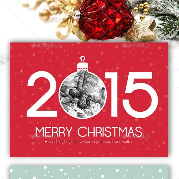 Modern Christmas Card V8