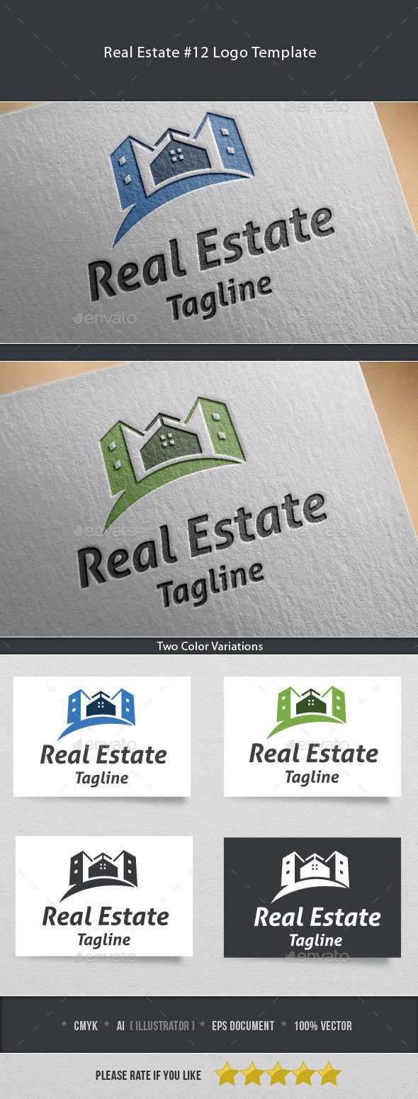 Real Estate #12 Logo Template