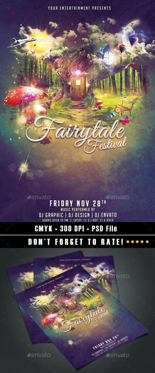 Fairytale Festival - Events Flyers