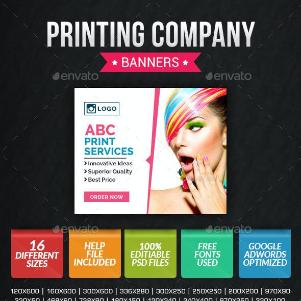 Printing Company Banners