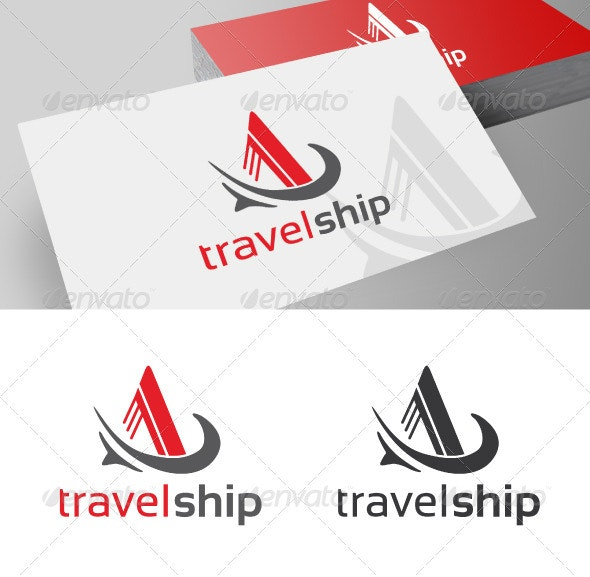 Travel Ship Company - Symbols Logo Templates