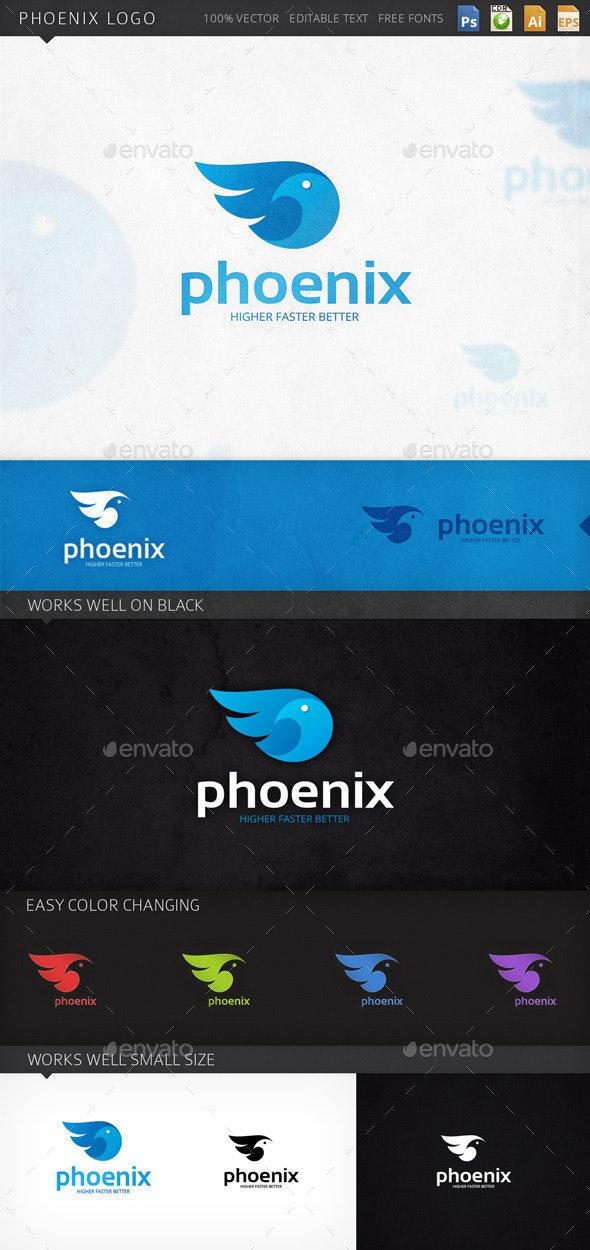 Phoenix Bird Logo Template - Animals Logo Templates