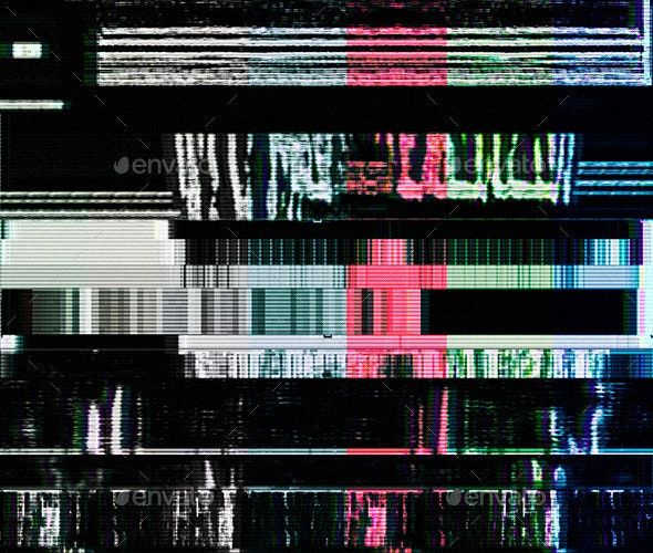 Glitched Electronics - Tech / Futuristic Backgrounds