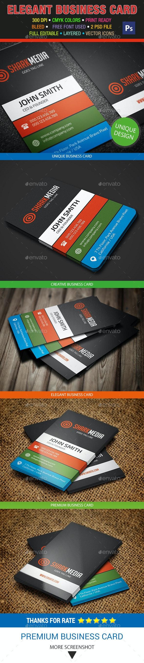 Elegant Business Card 321 - Creative Business Cards
