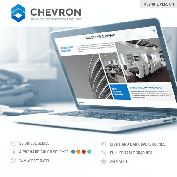 Chevron Keynote Presentation Template