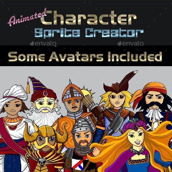 Animated Pixel Character Creator
