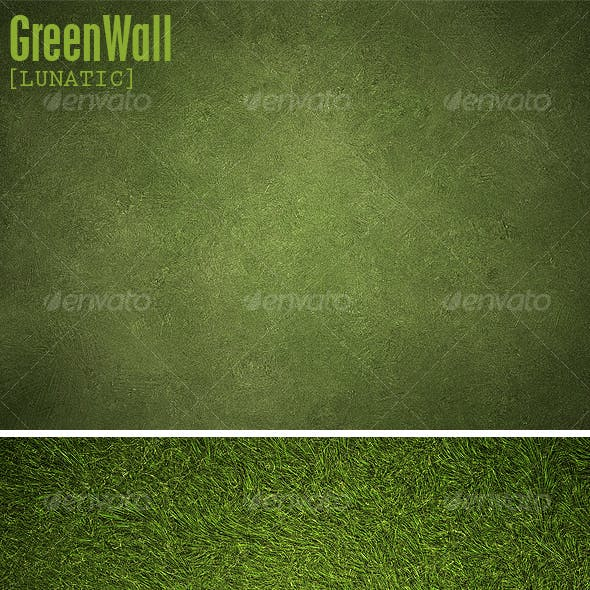 Green Wall backgrounds