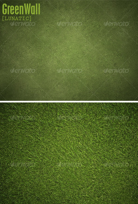 Green Wall backgrounds - Nature Textures