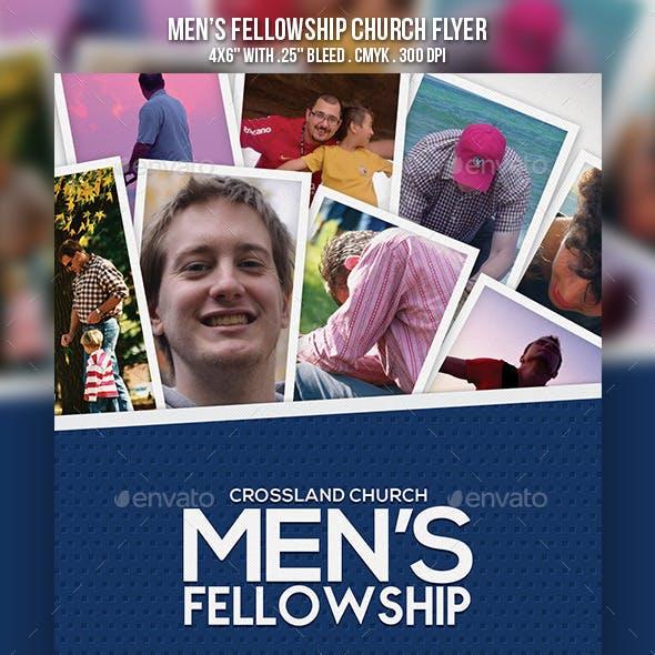 Men's Fellowship Church Flyer Vol.2