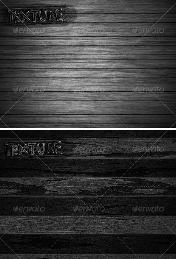 2 Wooden Backgrounds - Wood Textures