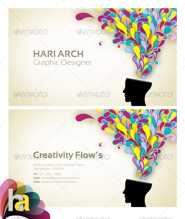 Colorful BusinessCard 2 - Creative Business Cards