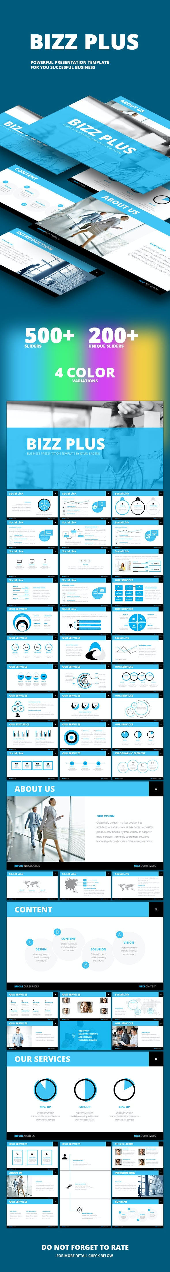 Bizz Plus - Business Presentation Template - PowerPoint Templates Presentation Templates