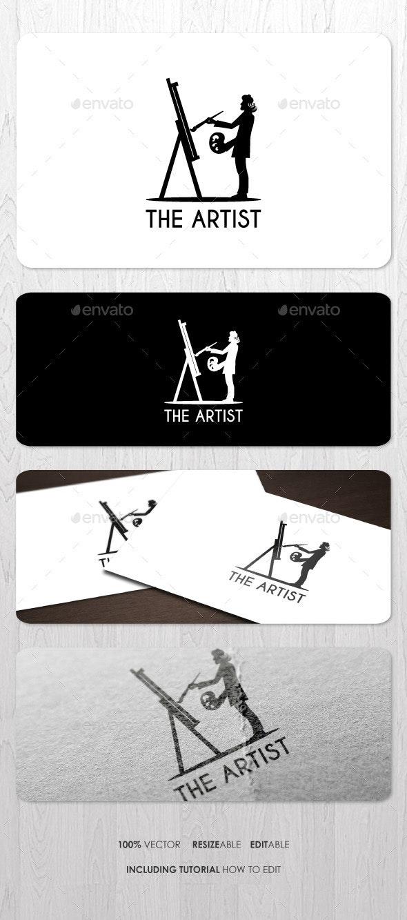 The Artist Logo - Humans Logo Templates