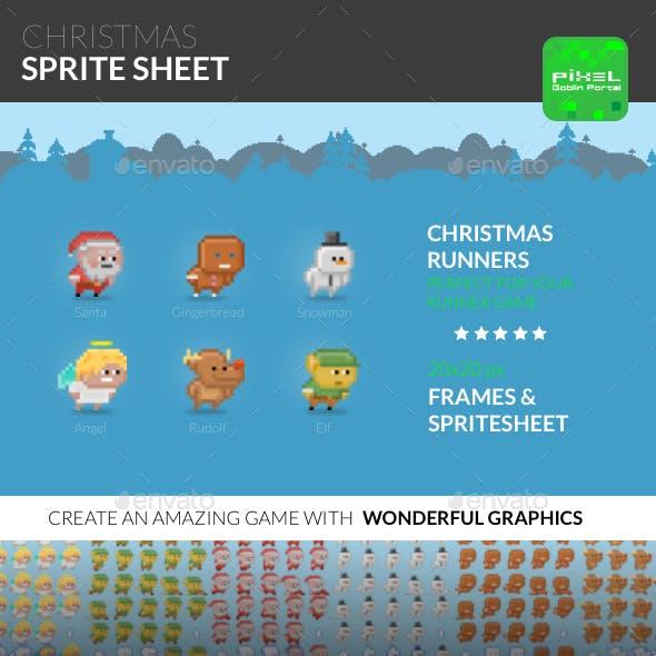 Christmas Sprite Sheet