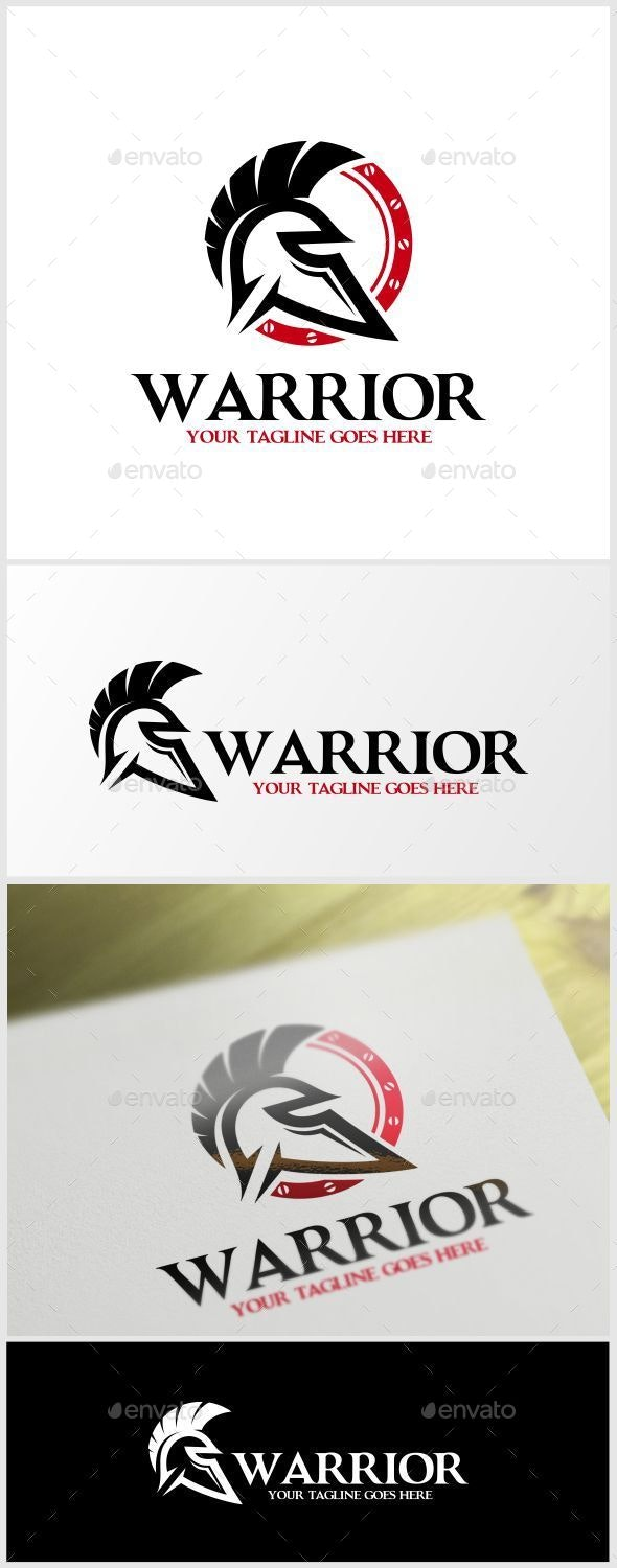 Warrior Logo Template - Humans Logo Templates