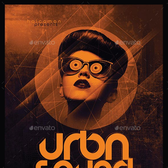 Urban Sound Party Flyer
