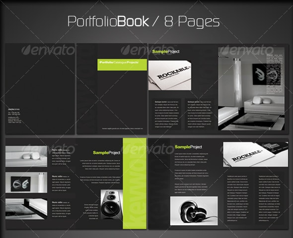 Portfolio Book 2 (8 pages) - Corporate Brochures