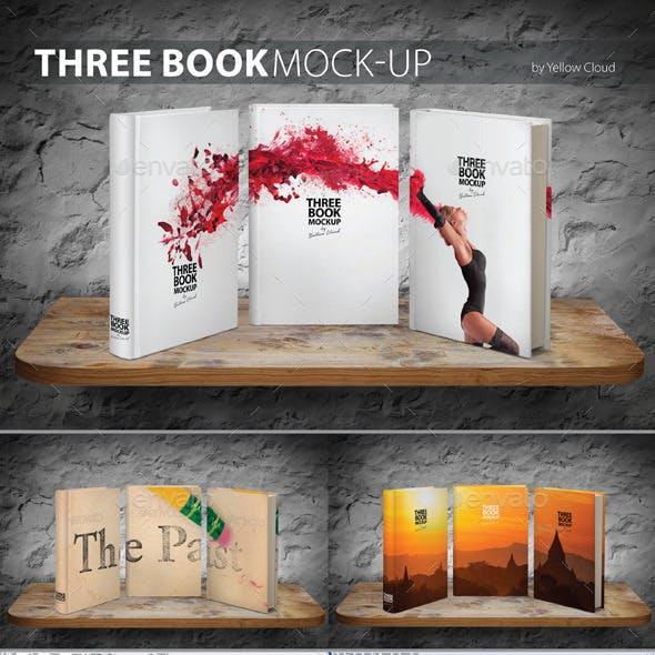Three Book Mock-Up