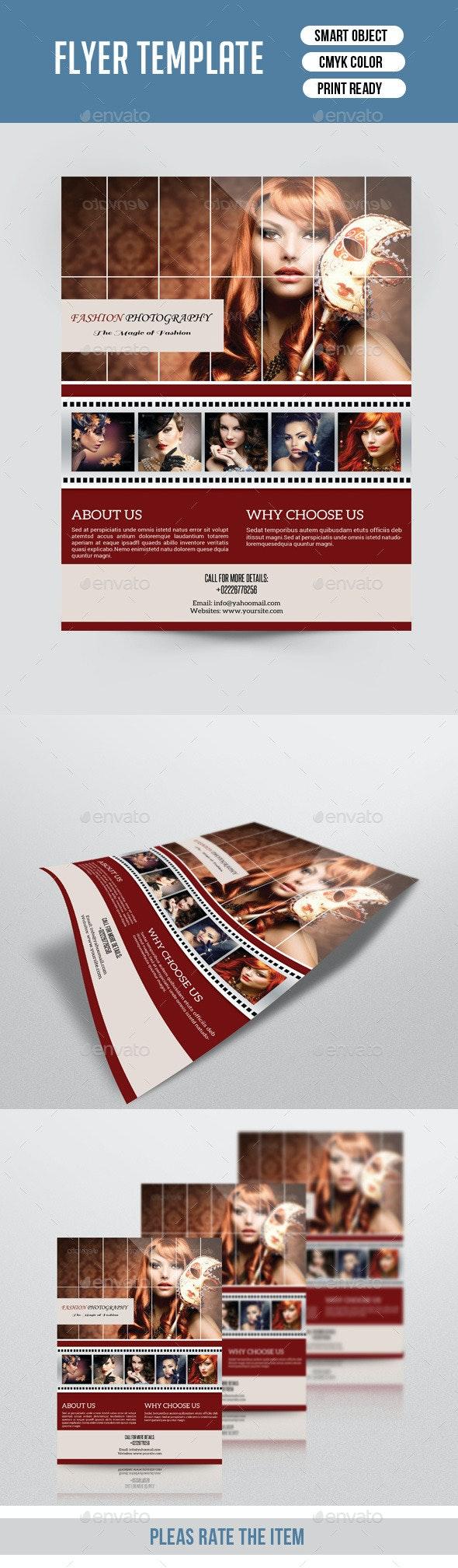 Photography Flyer-V141 - Corporate Flyers