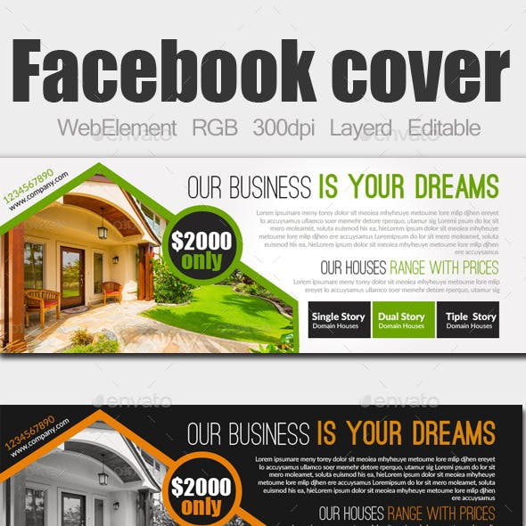 Real Estate Facebook Covers