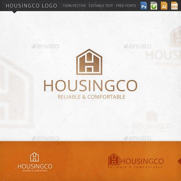 Housingco House Logo Template