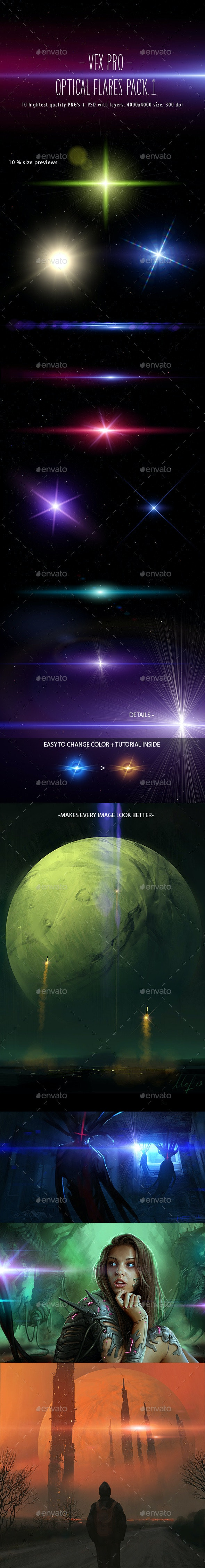 VFX PRO: Optical Flares Pack 1