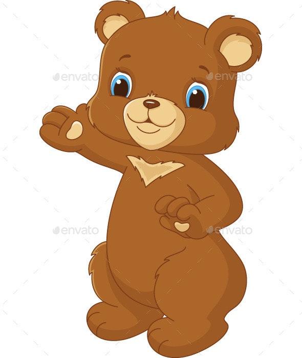Cute Bear - Animals Characters