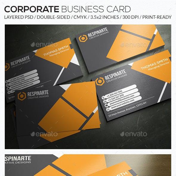 Corporate Business Card - RA59