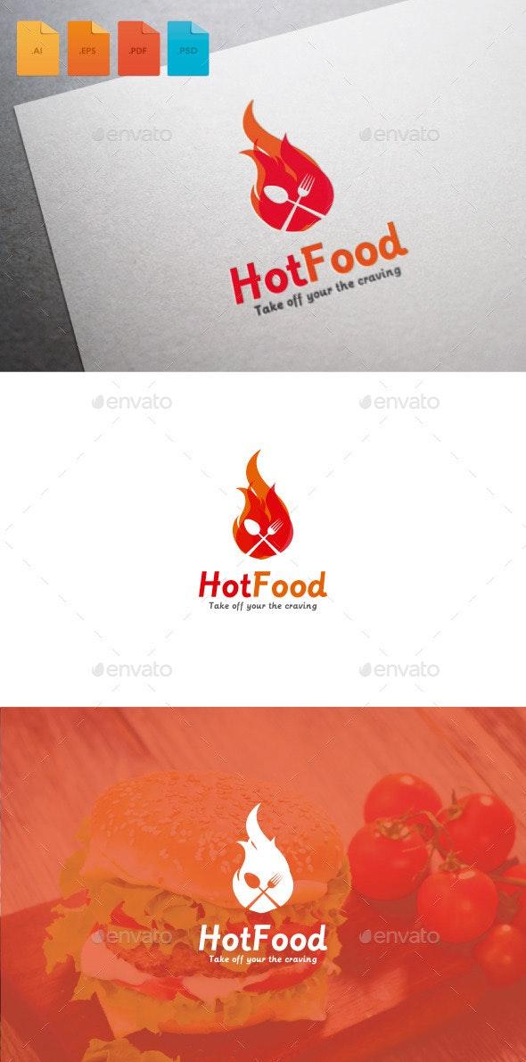 Logo Hot Food - Food Logo Templates