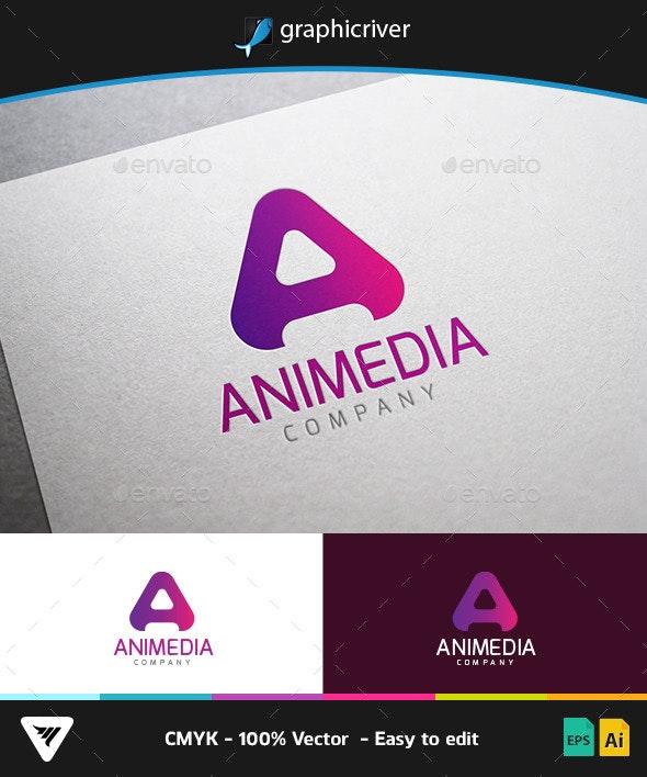 Animedia Logo - Logo Templates