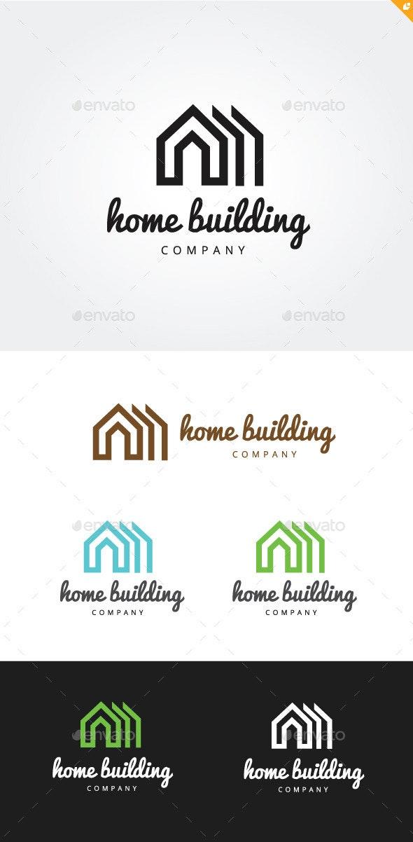 Home Building - Buildings Logo Templates
