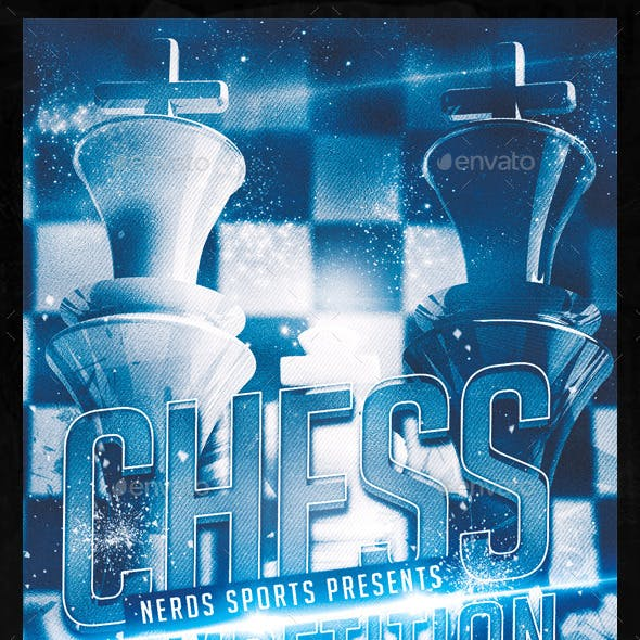 Chess Competition Flyer