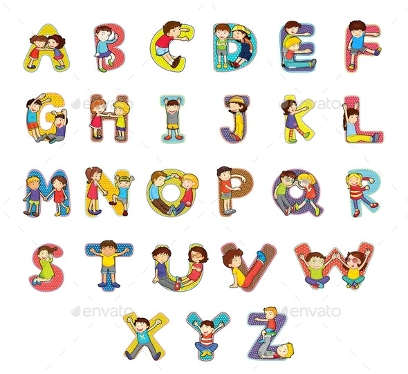 Alphabet - Decorative Symbols Decorative