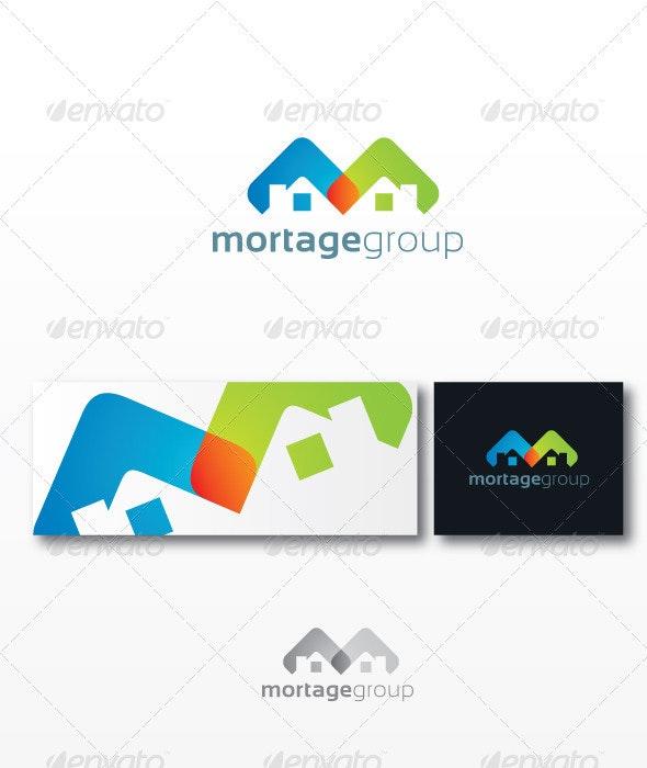 Mortage Group - Buildings Logo Templates