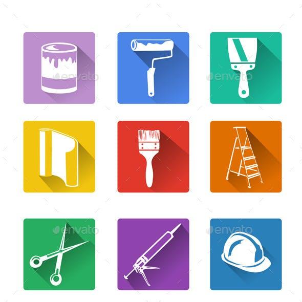 Home Repair Flat Icon