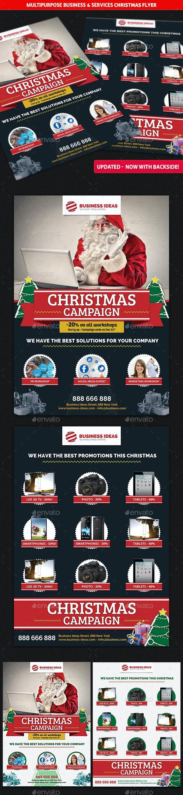 Multipurpose Business Christmas Flyer - Commerce Flyers