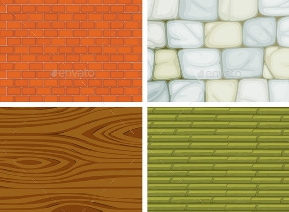 Different Textures - Patterns Decorative