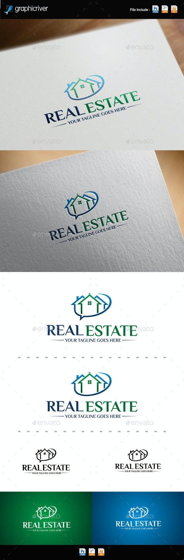 Real Estate Logo Template - Symbols Logo Templates