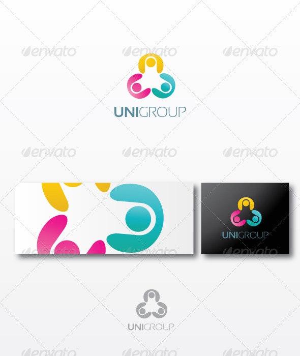 Unigroup - Humans Logo Templates
