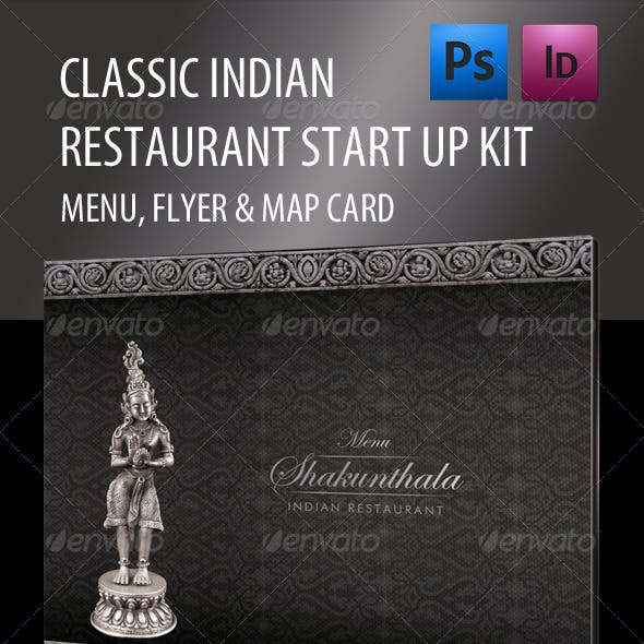 Classic Style Indian Restaurant Start-up Kit