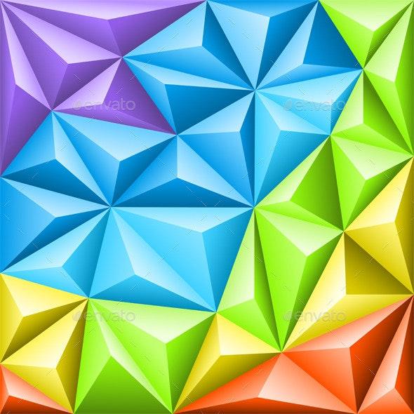 Abstract Mosaic Pattern - Patterns Decorative
