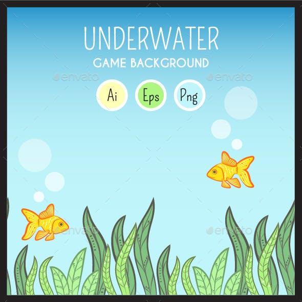 Game Assets - Underwater Game Background