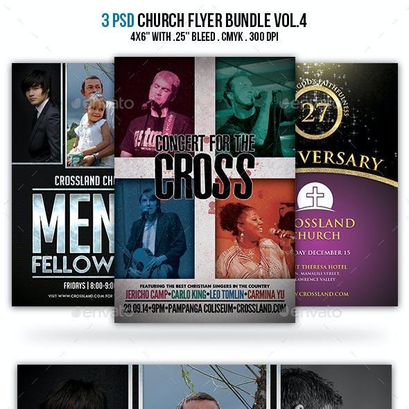 Church Flyer Bundle Vol.4