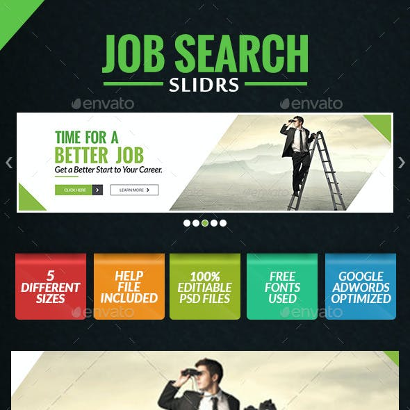 Job Search Slider