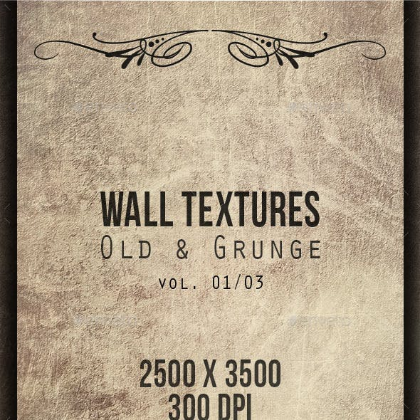 Wall Textures - Old & Grunge 01