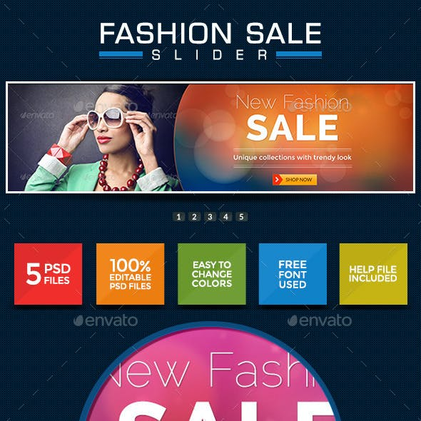 Fashion Sale Slider