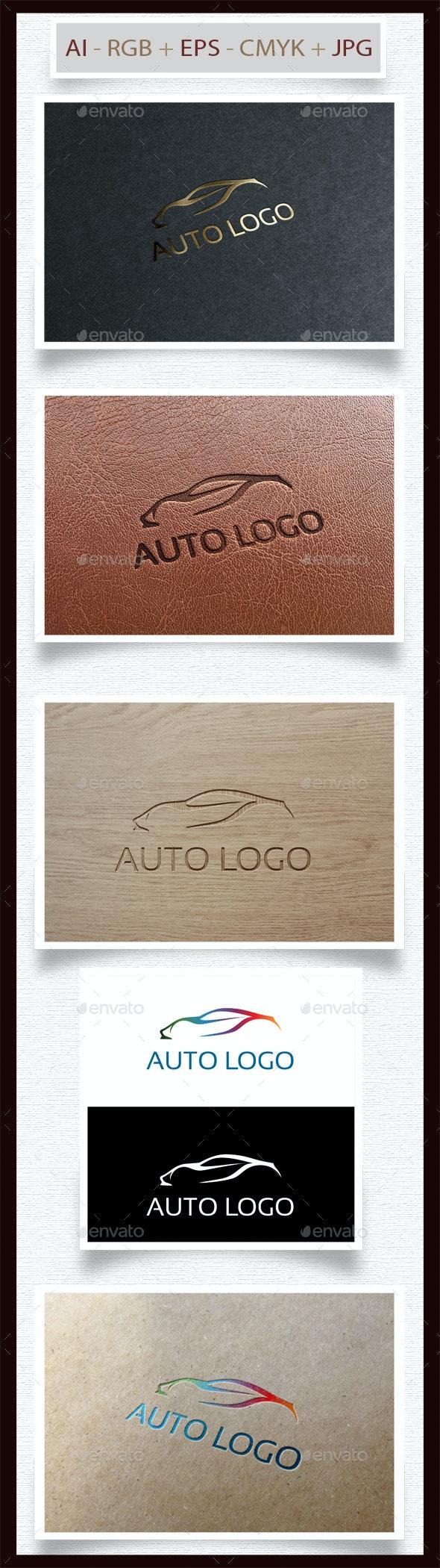 Sport Auto Logo - Objects Logo Templates