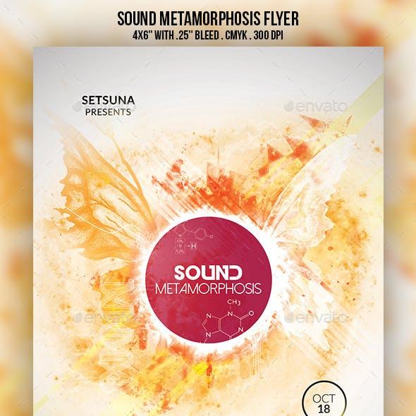 Sound Metamorphosis Flyer