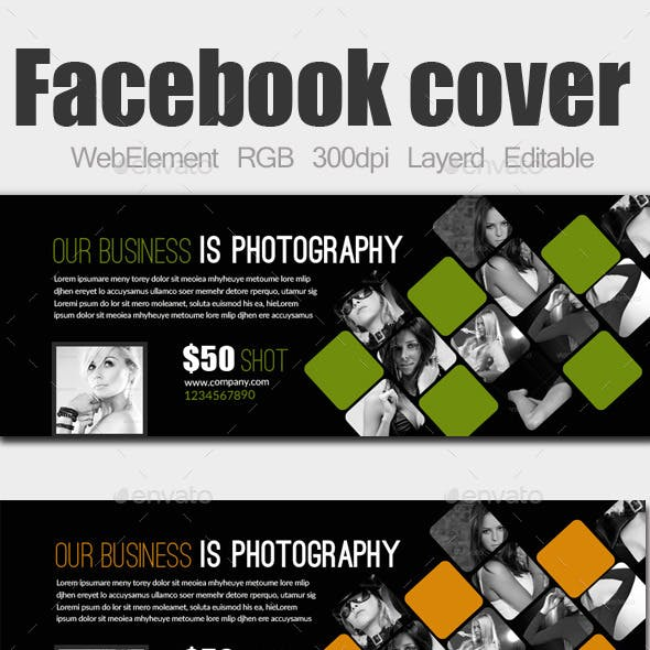 Photography Business Facebook Cover